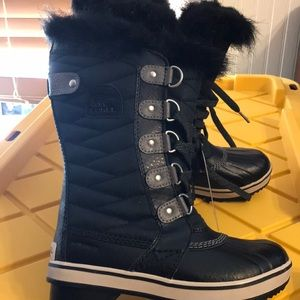 Sorel Snow Boots rated -40 waterproof NWT size 1